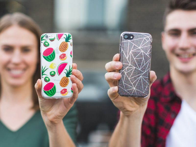 Do you prefer patterned or plain phone cases?