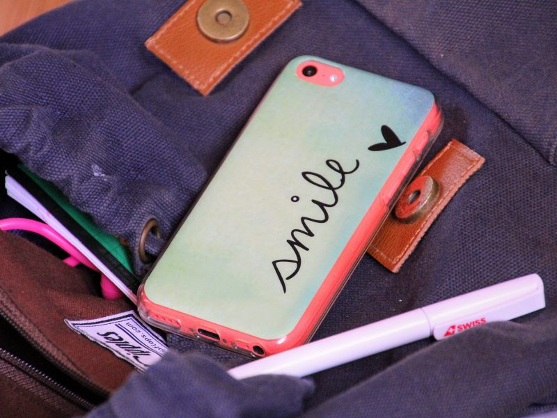 Get personal, have your phone case customised!