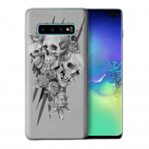 skull cross tpu case