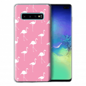 pink flamingo gel case