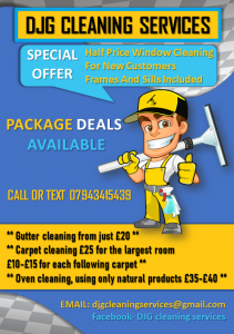 DJG Cleaning Services Flyer