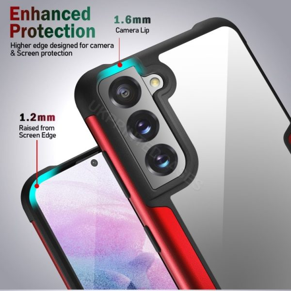 Metal Edging Mobile Phone Case For Samsung