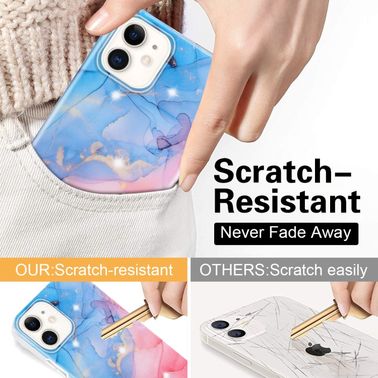 Marble Frosted Watercolour Phone Case