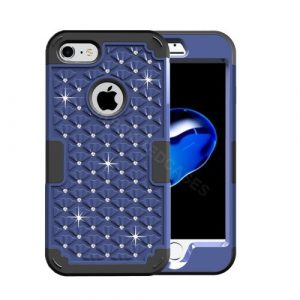 Diamond Encrusted Phone Case For iPhone