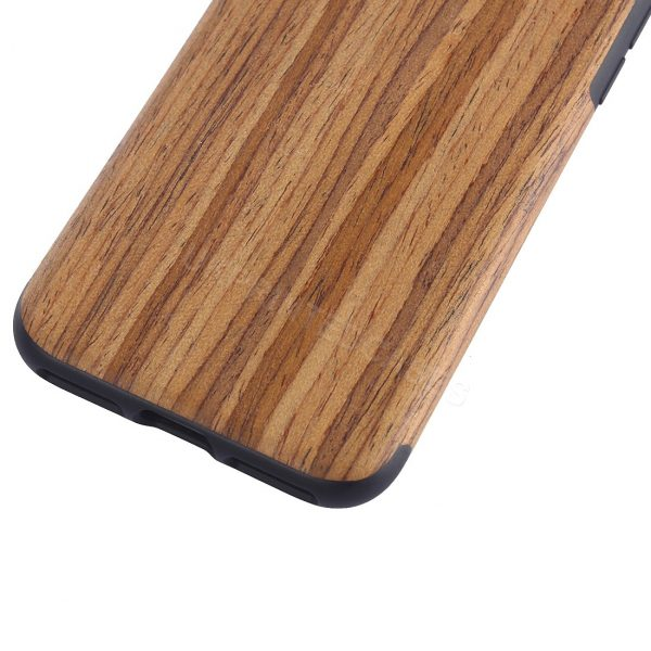 Wood Grain Effect Phone Case For iPhone